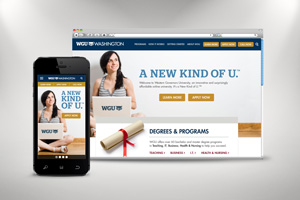 WGU Responsive Home Page Exploration