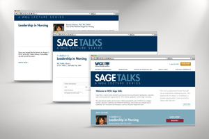 WGU Sage Talks Seminar Registration Experience